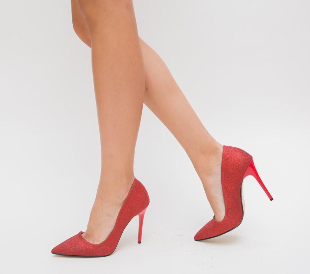 Pantofi Demas Rosii