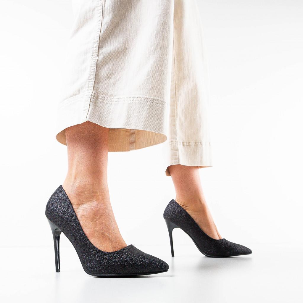 Pantofi Orta Negri