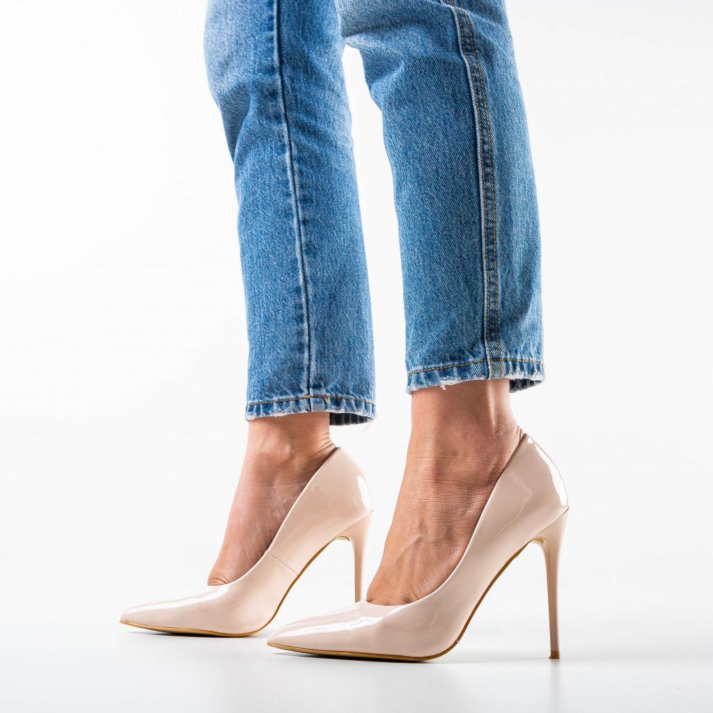 Pantofi Telio Bej
