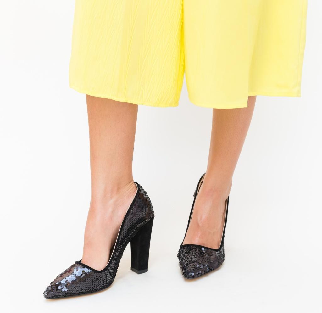 Pantofi Zigo Negri