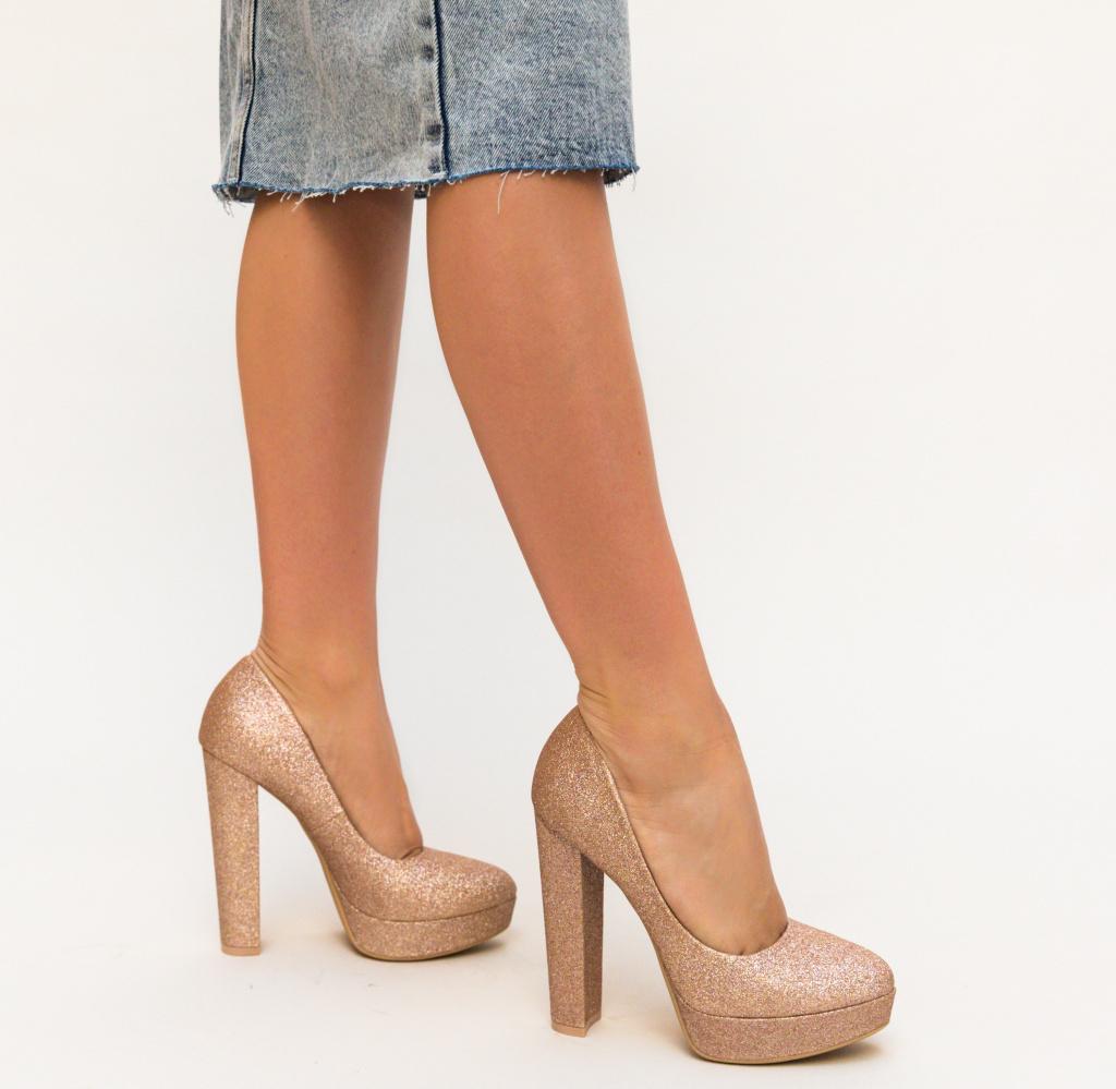 Pantofi Shona Aurii 2