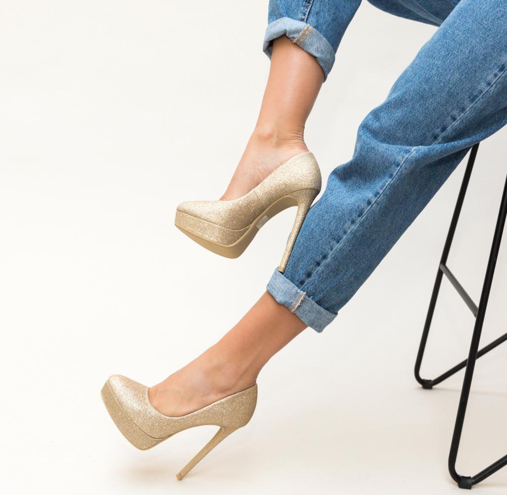 Pantofi Simia Aurii